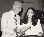 Senator Claiborne Pell and Gayle Gifford 1981